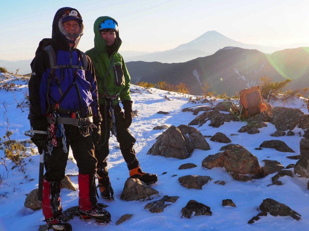 富士見平にて